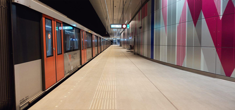 Noord/Zuidlijn station Europaplein
